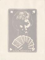 EX-Libris - Woman - Playing Cards By Bela Stettner (H) - Ex Libris