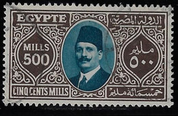 EGYPT 1927-32 500m YV.129, USED - Used Stamps