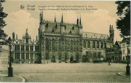 Bruges - La Justice De Paix, L'Hotel De Ville Et La Basillique Du St. Sang - Brugge - Kanselarij Stadhuis En Basillek - Brugge