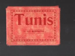 Tunis (Tunisie)  Petit Port-folio Avec 10 Vues (complet) (PPP30247) - Tourism Brochures