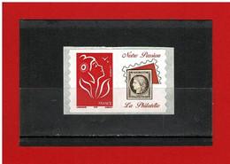 PERSONNALISE- 2005-06 - 3802Ad- NEUF** - Marianne  DE LAMOUCHE  VIGNETTE NOTRE PASSION LA PHILATELIE -Y&T- COTE : 9€ - Personalisiert