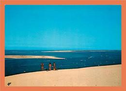 33 - PYLA SUR MER - Bassin D' Arcachon - Vue Sur Les Passes Et Le Banc D' Arguin - Non Classés