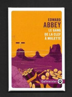 Magnet Publicitaire.   Editions Gallmeister.   Livre.   Littérature. - Advertising