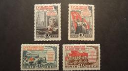 1952 Yv 1610- 1613 MNH - Ongebruikt