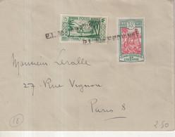 OCEANIE : OBL MARITIME . POUR PARIS . 1934 . - Cartas