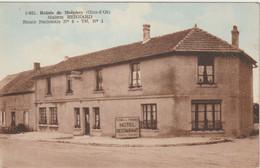 MOLPHEY 21 COTE D'OR 1930 ? Relais Maison BERNARD Route Nationale 6 Gros Plan - Altri Comuni