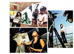 LOT 3 - Carte Panini - Femme  Artiste Chanteuse JENIFER - N°27-37-67 - Affiche Film Caméra - Künstler
