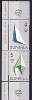 SLOVENIA 2021,NEW 12.07.,OLYMPIC GAMES TOKYO,MNH - Slovenia