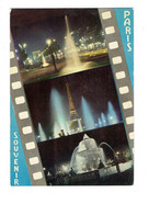 Cpm - 75 - PARIS - SOUVENIR FILM PELLICULE - Nuit - EduG 776 - 1970 - Konvolute, Lots, Sammlungen