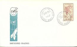 Norway 1957 Mi 412 FDC  (FDC LZE3 NRW412b) - Geographie