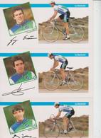 CYCLISME  -  GROUPE SPORTIF LA REDOUTE  -  LOT DE 24 CARTES  - - 5 - 99 Postcards