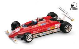 Ferrari 126C2 Turbo - Didier Pironi - GP USA 1982 #28 - Brumm + Pilote - Brumm