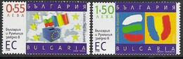 """2006  Bulgarien   Mi. 4777-8 **MNH  """" Beitritt Zur EU """" - European Ideas"""