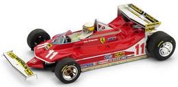 Ferrari 312 T4 - Jody Scheckter - 1st Monaco GP 1979 #11 - Brumm + Pilot - Brumm