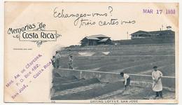 CPA - COSTA RICA - Drying Coffee, San José. - Costa Rica