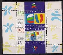 """2006  Bulgarien   Mi. Block 288 **MNH   """" Beitritt Zur EU """" - European Ideas"""
