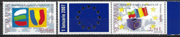 2006 Rumänien  Mi.  6149-8 ** MNH  Beitritt Rumäniens Und Bulgariens Zur Europäischen Union. - European Ideas