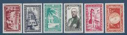 ⭐ Monaco - Poste Aérienne - PA YT N° 36 à 41 - Neuf Sans Charnière - 1949 ⭐ - Airmail