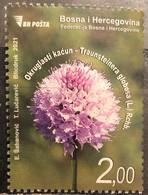 Bosnia And Hercegovina, 2021, Flora-Traunsteinera Globosa (MNH) - Other