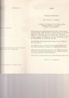 C.M.B. PAQUEBOT ELISABETHVILLE MENU DU 13 MARS 53 EN MER - Menus