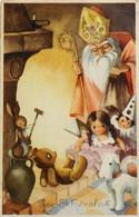C.P.S.M. > Vive Saint-Nicolas - Carte Belge - Daté 1950 - TBE - Sinterklaas