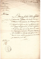 1816-Louis Nicolas GRIVEAU Est Nommé Membre Du Conseil Général De La Meurthe Par Décret Du 4 Prairial An 8 - Manuscripten