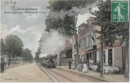 ANTONY - La CROIX De BERNY -- Route D'Orleans , Pavillon De Chasse ( Tramway Devant Le Restaurant ) - Antony