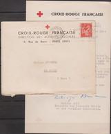 MARCOPHILIE - MILITARIA - COMPIEGNE - FRONTSTALAG 122, CAMP DE ROYALLIEU 1942 Corresp De La CX ROUGE Pour Libération Pr - Oorlog 1939-45