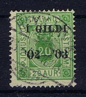 Iceland: Dienst / Service  Mi Nr 15A Used - Dienstzegels
