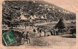 06 / ENVIRONS DE SOSPEL / LE CAMP DU COL DE L ORNE / JOLI PLAN - Sospel