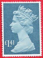 £ 1.41 Large MACHIN QE II Definitives High Value (Mi 1043) 1985 POSTFRIS MNH ** ENGLAND GRANDE-BRETAGNE GB GREAT BRITAIN - Nuovi