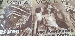 VOILA 34/ TIR A L ARC/DE CHAMBRUN JOUVENEL/JAPON /CELEBES CHAIRS D OR TITAYNA/MARSEILLE MYSTERES - 1900 - 1949