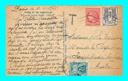 A929 / 723  Lettre Taxée - Timbre Taxe N° 72 - Cartas Con Impuestos