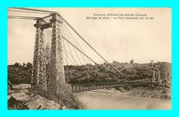A929 / 389 23 - Env EVAUX LES BAINS Barrage Du Cher Pont Suspendu Sur Le Lac - Non Classificati