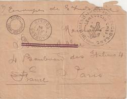 "INDOCHINE : ""  CORPS EXPDT DU TONKIN DE CAOBANG   "" . 1894 . - Storia Postale"