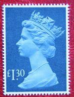 £ 1.30 Large MACHIN QE II Definitives High Values (Mi 961) 1983 POSTFRIS MNH ** ENGLAND GRANDE-BRETAGNE GB GREAT BRITAIN - Nuovi