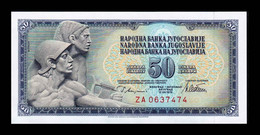Yugoslavia 50 Dinara 1978 Pick 89Ar Serie ZA Replacement SC UNC - Yugoslavia