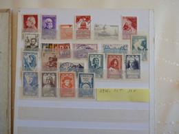 France Année 1946 Obl Ou  Neufs Charnières OU Nsg Cote 19 Euros - 1940-1949