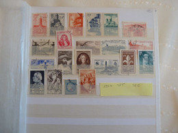 France Année 1947 Obl Ou  Neufs Charnières OU Nsg Cote 25 Euros - 1940-1949