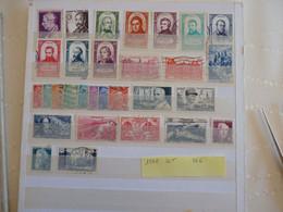 France Année 1948 Obl Ou  Neufs Charnières OU Nsg Cote 36 Euros - 1940-1949
