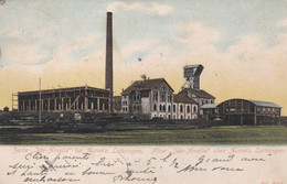 AUMETZ - MOSELLE  -  (57)  -   CPA PRECURSEUR 1904 - BEL AFFRANCHISSEMENT POSTAL - TAMPON AMBULANT. - Autres Communes