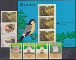 AZOREN  Jahrgang 1986, Postfrisch **, 376-382, Komplett - Azoren