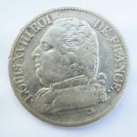 5 Francs LOUIS XVIII 1814 M - J. 5 Francs