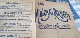 CHANSON POLITIQUE /LES MILLIONS DE ROCHETTE / PAUL BRERANT - Partituren
