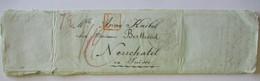 Frankreich Vorphila Bordeaux 1842 N. Neuchatel Mit 9 Engbeschriebene Seiten (A26) - Ohne Zuordnung