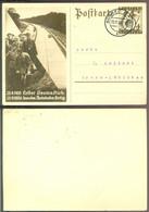 Deutsches Reich 1936 Ganzsache Postkarte P263 1.000 Km Autobahn Fertig Gelaufen - Entiers Postaux