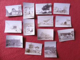 GROIX SCENE DE VIE MAISON FERME PHOTO 7.8 X 5.8 Cm - Places