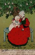 Belle Illustrée . Maman Et Petit Enfant . - Groupes D'enfants & Familles