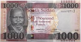 Soudan Du Sud - 1000 Pounds - 2020 - PICK NEW20 - NEUF - South Sudan
