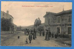 54 -   Meurthe Et Moselle  -  Roville Devant Bayon - Cafe Restaurant De La Poste (N5295) - Autres Communes